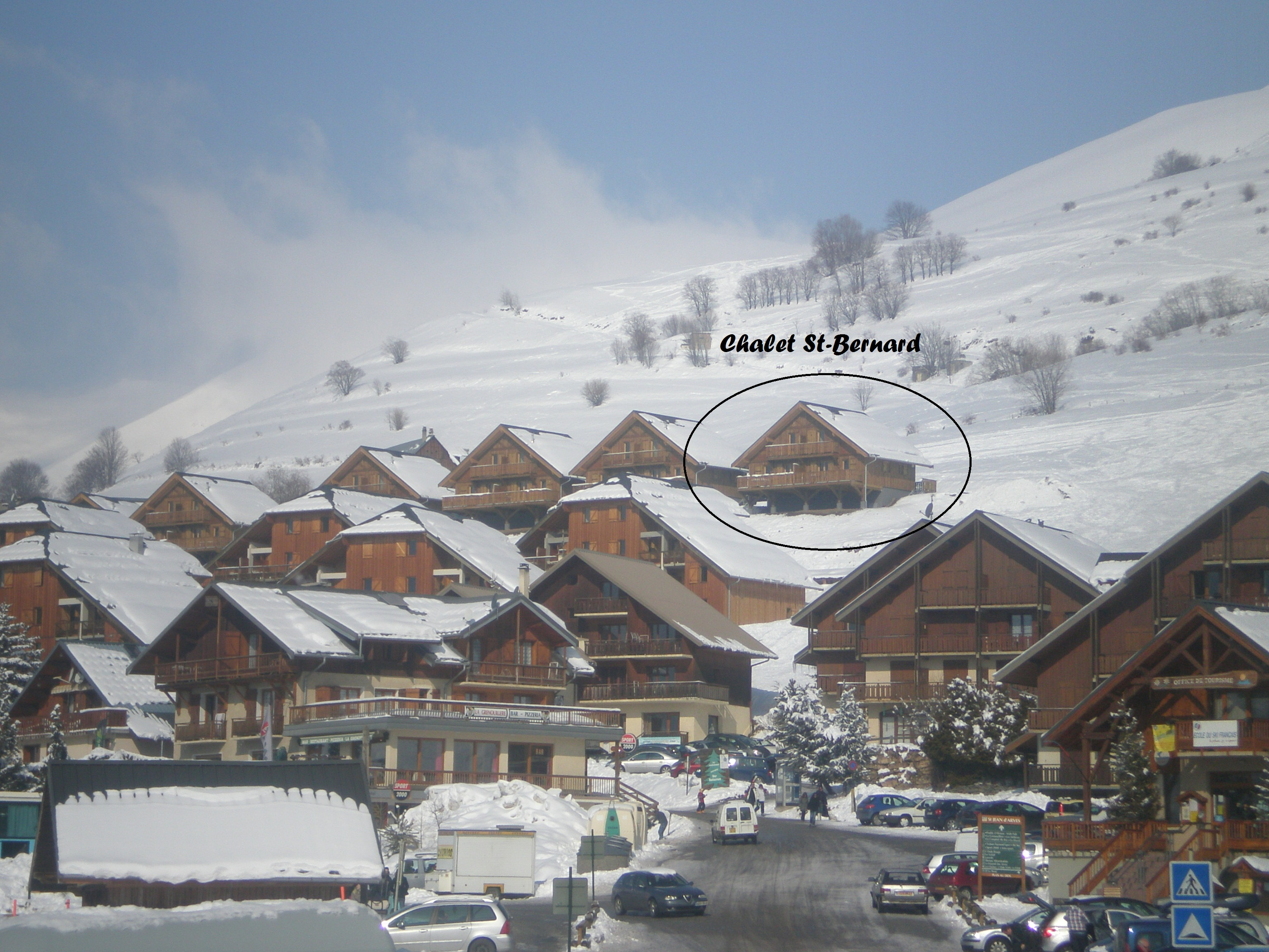 Location chalet St-Bernard