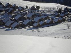 Chalet St-Bernard vue arrière