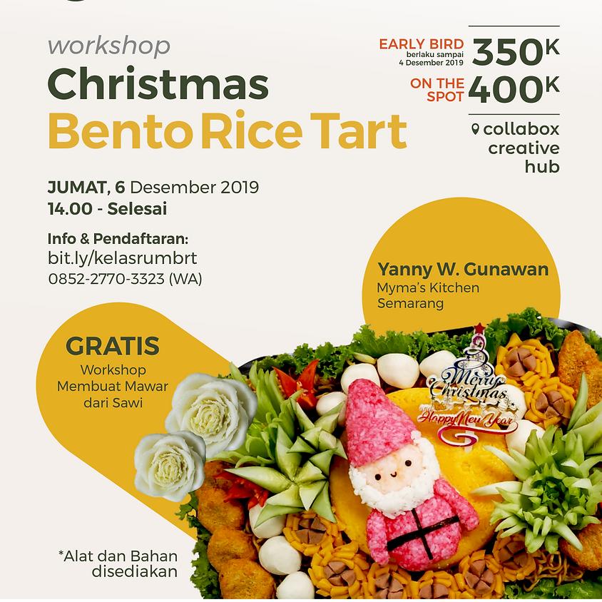Christmas Bento Rice Tart