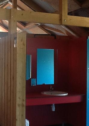 sanitaire du camping de vaas