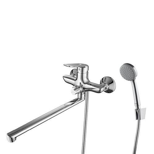 IDDIS. Смеситель для ванны с длинным изливом Male