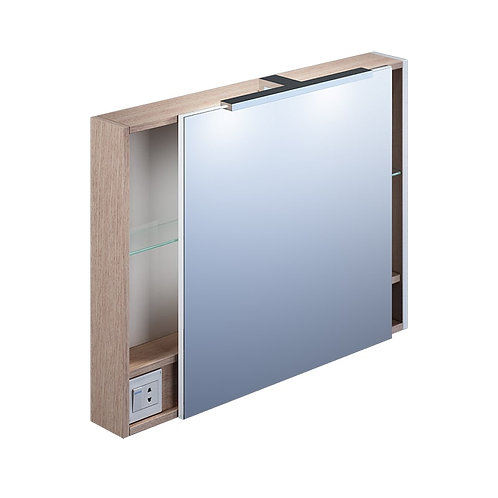 IDDIS. Шкаф-зеркалo 80 см Mirro