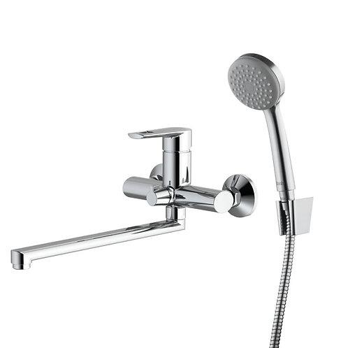 IDDIS. Смеситель для ванны с длинным изливом Runo