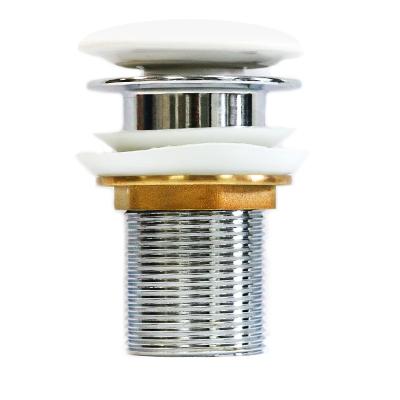 Донный клапан (белый) T201A
