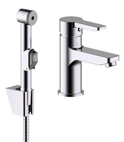 IDDIS. Смеситель для умывальника с гигиеническим душем Sena