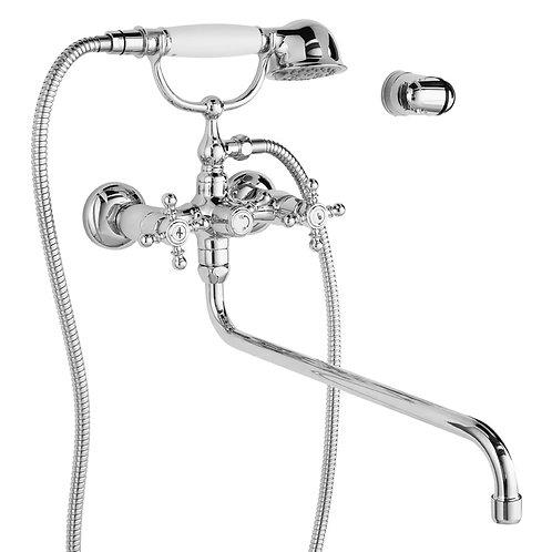IDDIS. Смеситель для ванны с длинным изливом Sam