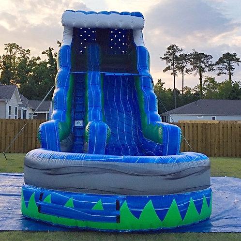 18' Blue Wave water slide