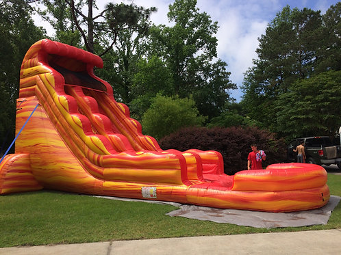 22' Fire Water Slide
