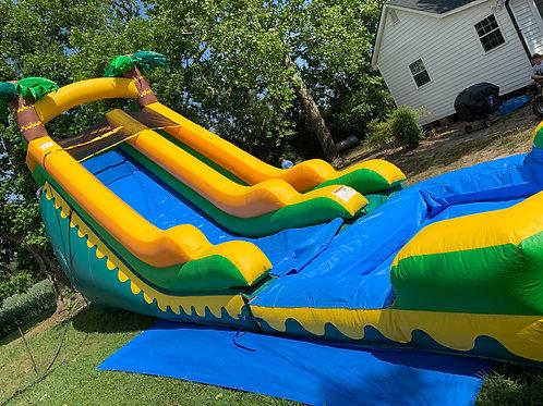 18' Aloha Water Slide