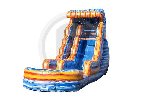18' Artic Ice Water Slide