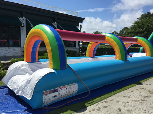 33 ft Single lane slip & slide
