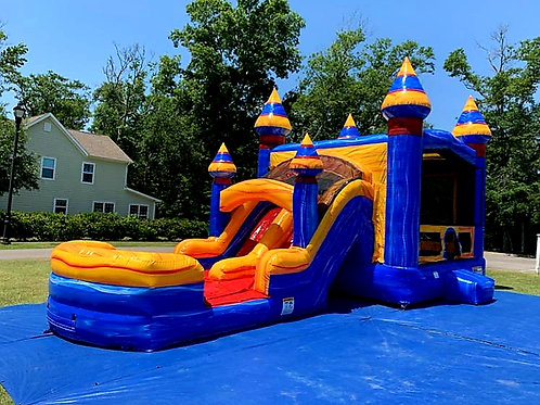 Castle Combo 2 Dual Lane Slide