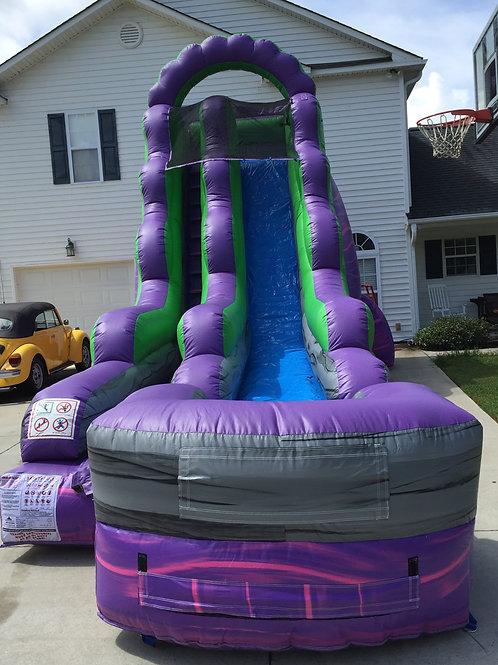 18' Purple Water Slide