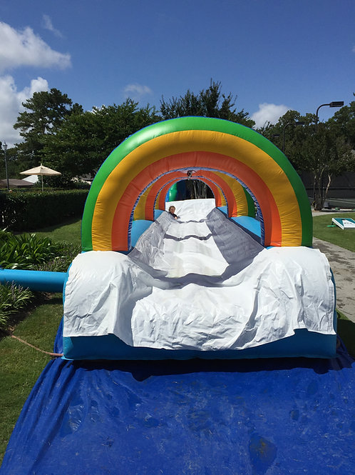 33' Rainbow Single Lane Slip-n-Slide