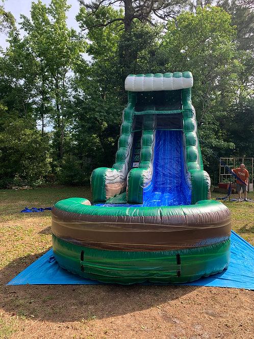 18' Emerald Crush Water Slide