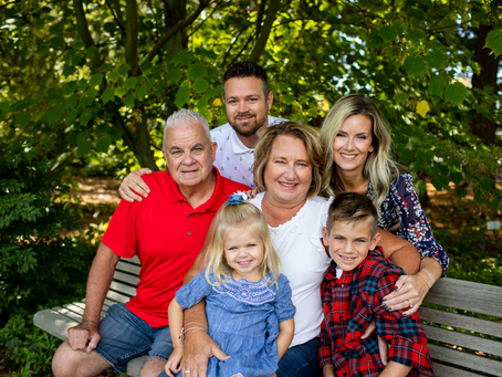 The S Family // Fall Peoria 2021 Family Session // Jacklyn Byrd Photography