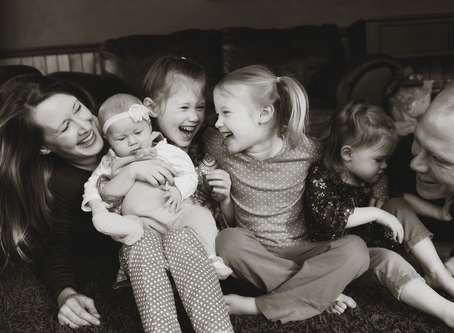 Family of 6 Lifestyle session // Peoria, Illinois // Jacklyn Byrd Photography