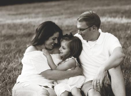 Family of 3 // McNaughton Park Pekin, Illinois // Jacklyn Byrd Photography