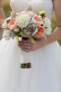 Fall Bridal Flowers Wildlife Prairie Park Wedding
