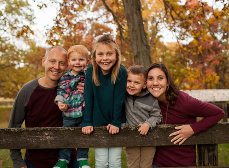 Fall Peoria Family Photo Session // The R Family // Jacklyn Byrd Photography