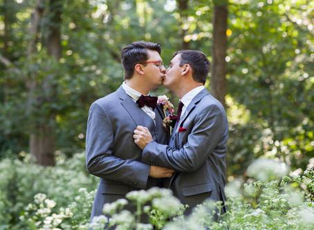 Funks Grove, Illinois Wedding / Austin + Ramsey / Same Sex Marriage / Beauty & the Beast Theme
