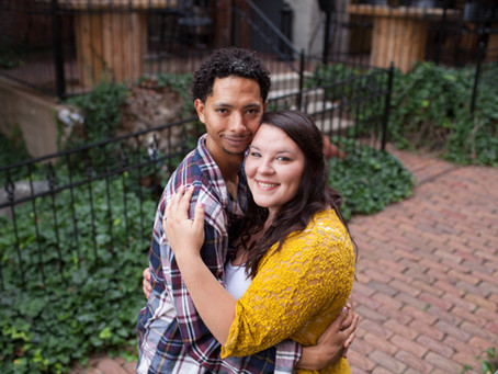Downtown Peoria Engagement Session // Jacklyn Byrd Photography // Amanda + Patrick