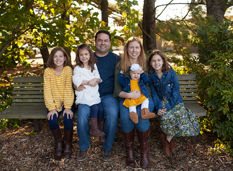 """Family of 6 // Fall Family Photo Session // The """"M"""" Family // Jacklyn Byrd Photography"""
