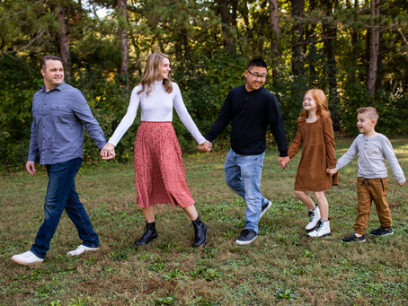 The G Family // Fall 2021 Family Session // Jacklyn Byrd Photography