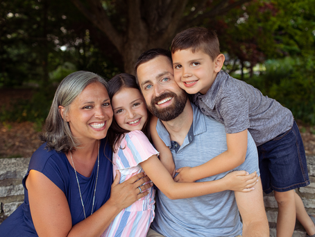 The A Family // Summer 2021 Photo Session // East Peoria, Illinois // Jacklyn Byrd Photography