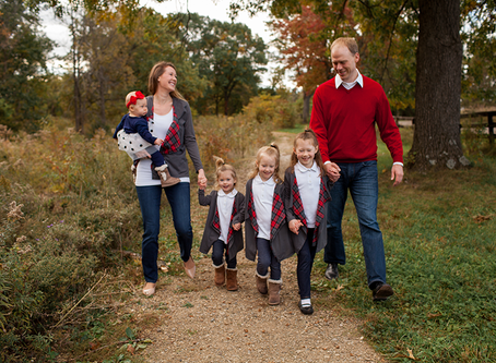 Family of 6 Fall Session // The K Family // Jacklyn Byrd Photography