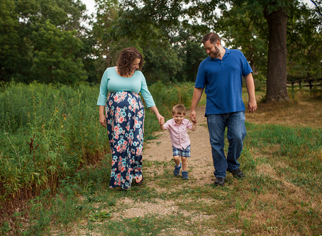 Peoria Maternity Session // The B Family // Jacklyn Byrd Photography