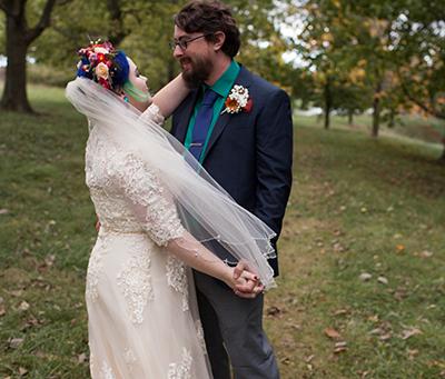 Indie Bride // Navy & Emerald Wedding // Toms Bride // Payson, Illinois // Jacklyn Byrd