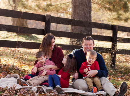 Fall Family Session // The F Family // Jacklyn Byrd Photography