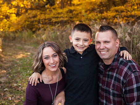 Fall Family Peoria Session // The M Family // Jacklyn Byrd photography