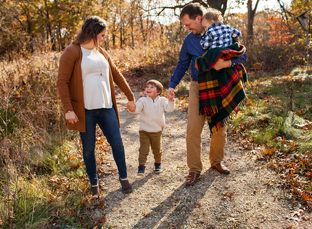 Chillicothe Fall Family Session // The D Family // Jacklyn Byrd Photography