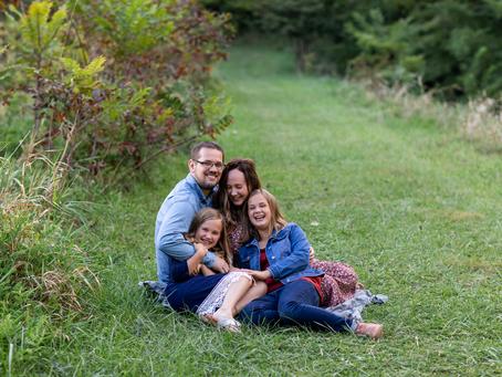 The F Family // Fall Family 2021 Session // Jacklyn Byrd Photography // Camp Wokanda
