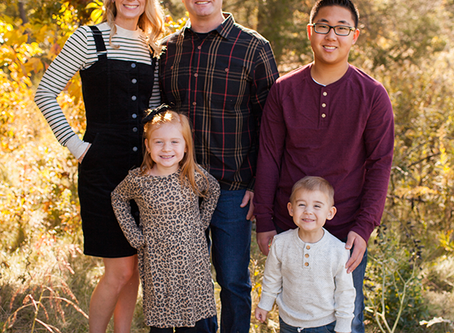 Fall Family Session // The G Family // Jacklyn Byrd Photography
