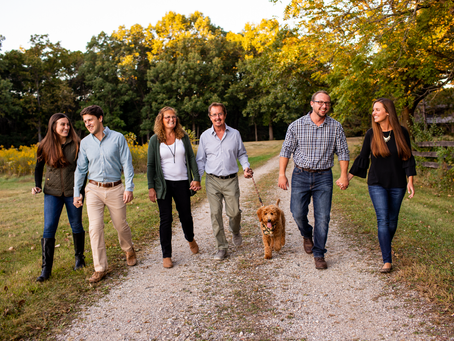 The E Family // Fall 2021 Family Session // Jacklyn Byrd Photography