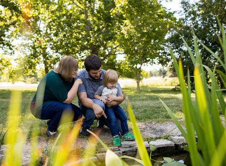 The P Family // Jacklyn Byrd Photography // East Peoria, Illinois // Family Photo Session