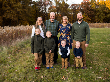 The M Family // Fall 2020 Sessions // Jacklyn Byrd Photography