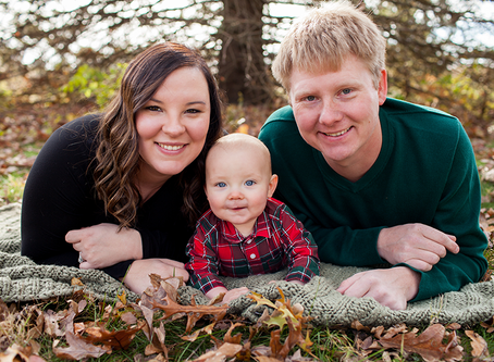 Fall Family Illinois Session // The T Family // Jacklyn Byrd Photography