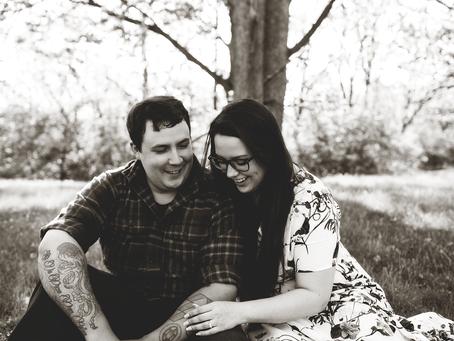 Madison + Kris // Engaged // Lewistown, Illinois // Jacklyn Byrd Photography