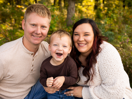 The T Family // Fall 2021 Family Session // Jacklyn Byrd Photography
