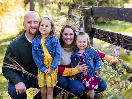The S Family // Family of 4 // Jacklyn Byrd Photography