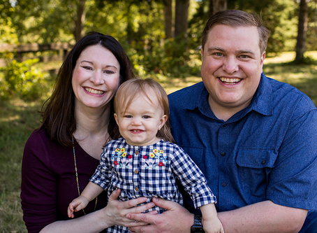 The L Family // Fall Family Peoria, Illinois Session // Jacklyn Byrd Photography