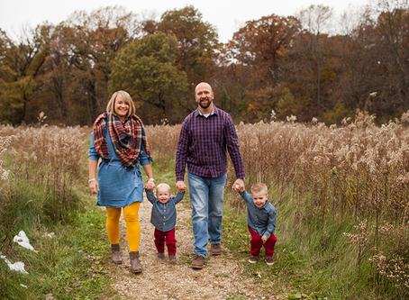 Fall Peoria Session // The M Family // Jacklyn Byrd Photography