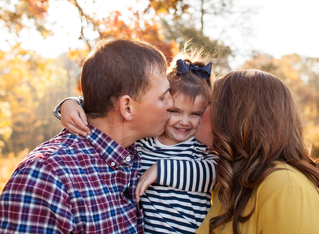 Fall Family Session Peoria, Illinois // The B Family // Jacklyn Byrd Photography