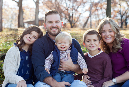 Fall Family Session Central Illinois