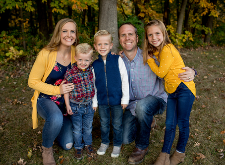 The B Family // Fall 2020 Session // Jacklyn Byrd Photography
