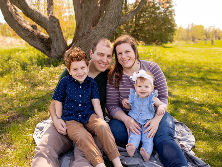 The L Family // Peoria, Illinois // Jacklyn Byrd Photography